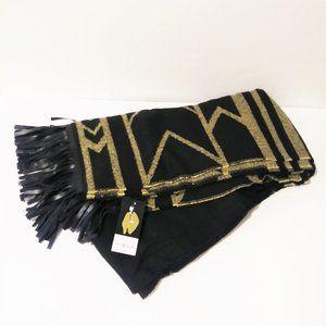 Mixit Black Aztec Blanket Wrap